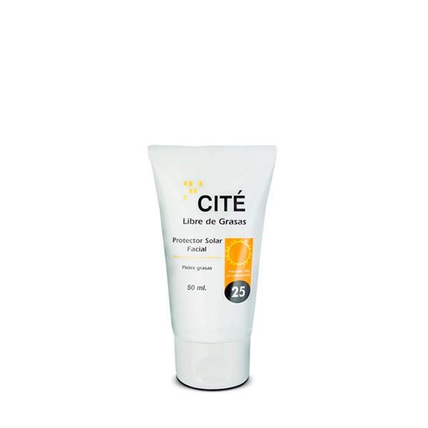 CITÉ protector solar facial SPF 25. Oil free